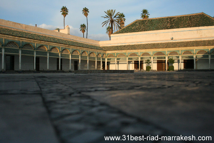 Photos of Bahia Palace 19th century Moroccan Architecture in Marrakech