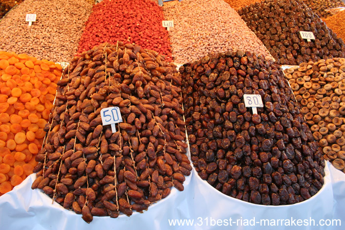 Photos of Dried Fruits Stand nº 26 Djemaa el-Fna Square in Marrakech