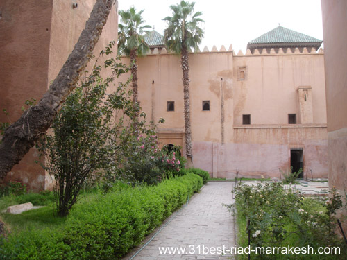 Photos of Saadian Tombs, Marrakech Mausoleum 17th century Saadi Dinasty Marrakech