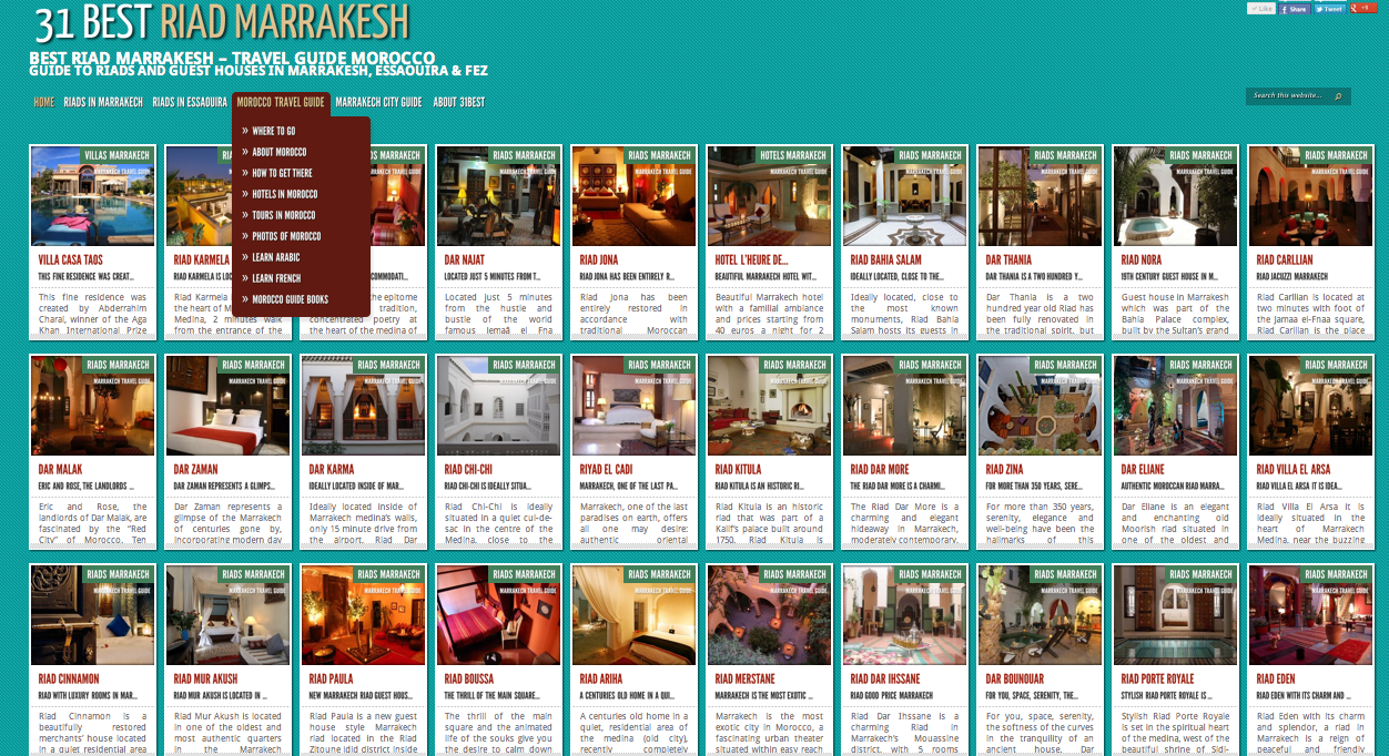 About us riad marrakech riad morocco contacts follows for Best riads in marrakesh