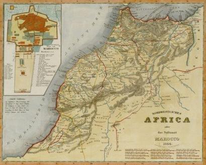 Map of Marrakech Marrakech Attractions Sightseeing Map Marrakech