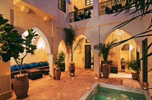 Riad Cinnamon patio