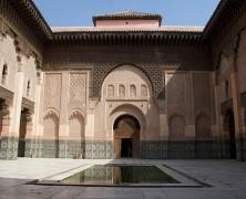 Madrassa Ben Youssef monumento marraquexe