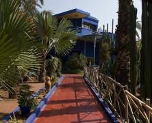 Jardins Majorelle monumento marraquexe