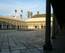 Palácio Bahia monumento marraquexe