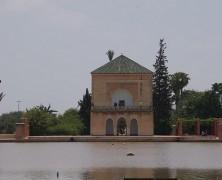 Jardins Menara monumento marraquexe