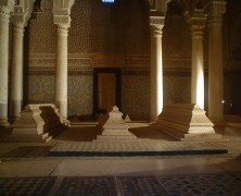 Túmulos Saadianos monumento marraquexe