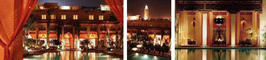 Restaurant Les Jardins de Bala Marrakech Morocco
